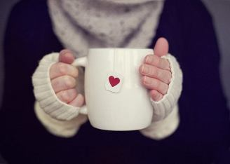 Hands with Tea