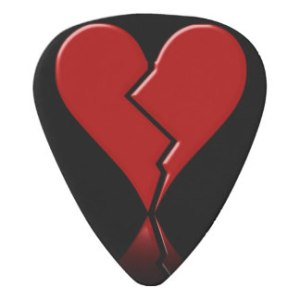 Broken Heart Guitar Pic