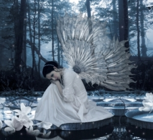 Fairy-With-Glass-Wings