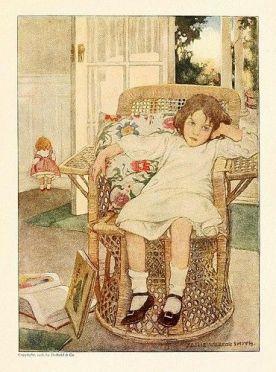 Girl In Chair - Jessie Wilcox Smith