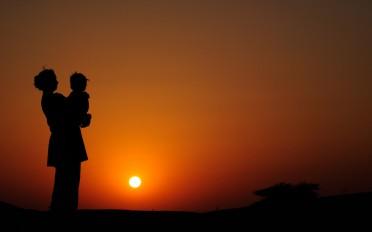 INNER CHILD AT SUNSET