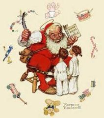Rockwell Santa