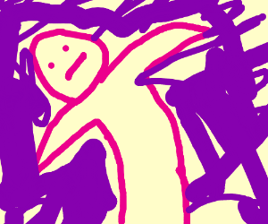 Flailing Drawing