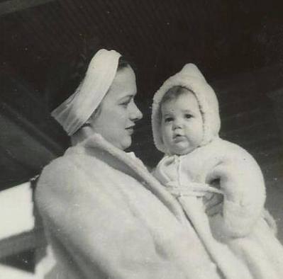 Baby Celia and Mama